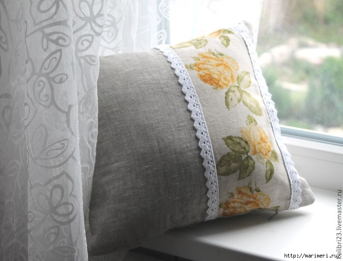 TOUCHING HEARTS: FANCY DECORATIVE PILLOWS