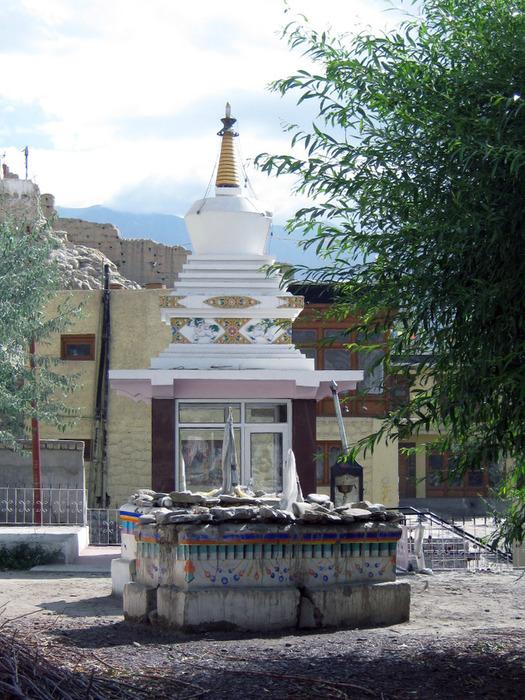 Индия, Ладакх, окрестности Леха, монастырь Shey Palase 1 (1) (525x700, 186Kb)
