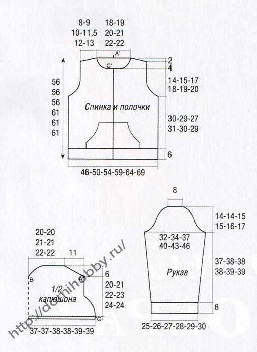 выкройка-кофты1 (511x700, 52Kb)