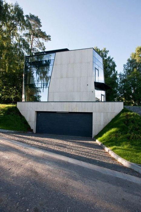 Летний дом в литовском городке Бирштаны