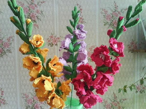 Сборка: цветки посадить на