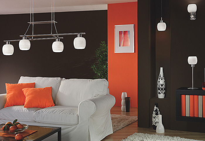 Светильники в интерьере разных помещений несут каждый свою функцию...