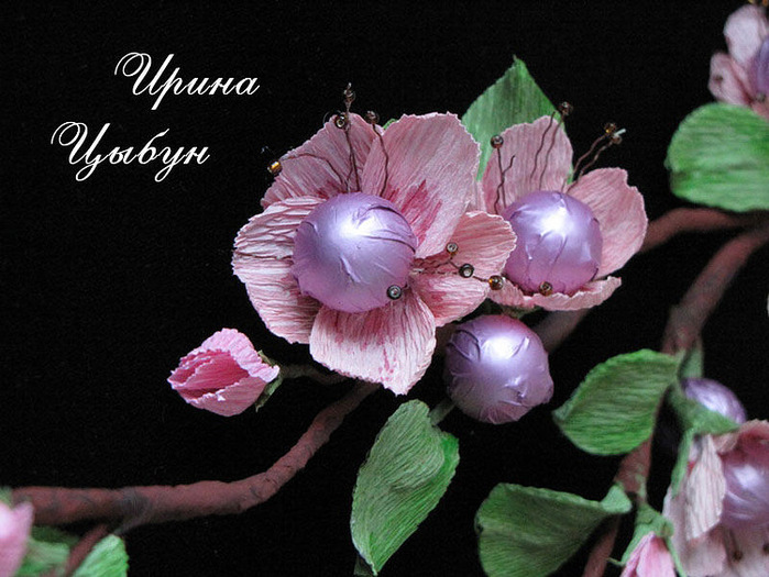 Гофра бумага как сделать цветы фото 633
