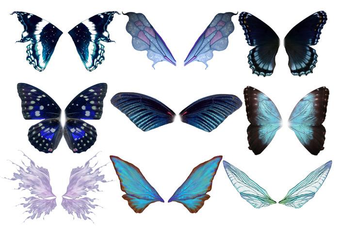 Как на фотошопе сделать себе крылья