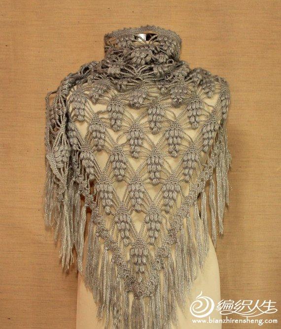 Шали, накидки, палантины и шарфы - они были актуальными и модными...  Обозначения к схеме - маленький кружочек...