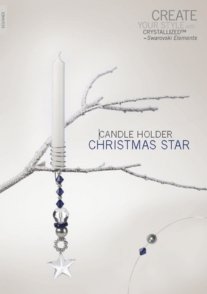 Create your style with swarovski Beginner Candle holder christmas star (300x425, 66Kb)