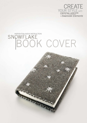 Create your style with swarovski Inspiration book instruction Snowflake book cover (300x425, 67Kb)