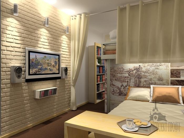 Дизайн кухни с декоративным камнем фото