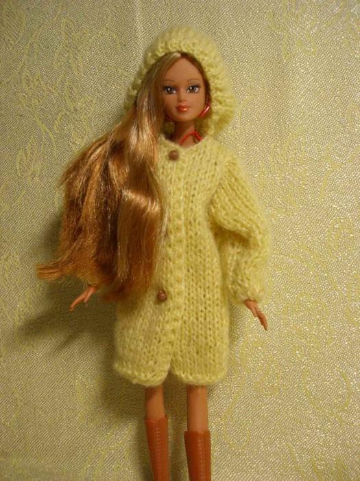 Вязание кукле барби спицами