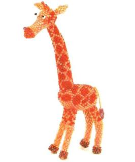 Жирафа из бисера 3881963 71891769 1299848709 giraffa