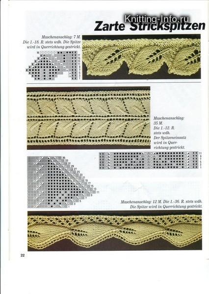Объёмные косы для вязания спицами с описанием