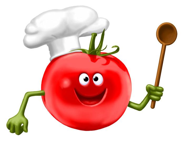 картинки овощи веселые