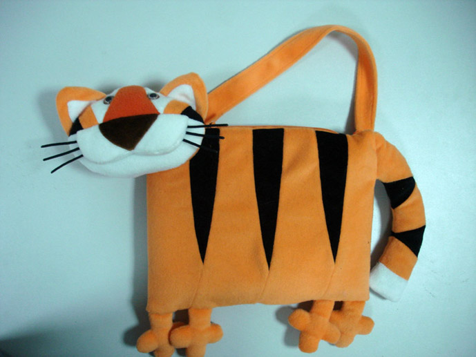 Подушка с тигром своими руками