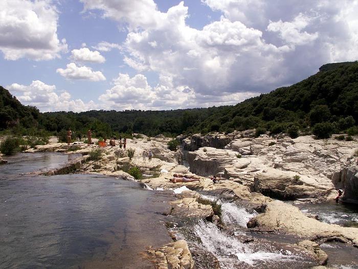 Les cascades du Sautadet - La Roque sur Ceze 15563