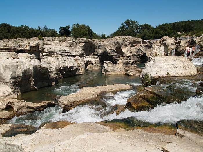 Les cascades du Sautadet - La Roque sur Ceze 43695