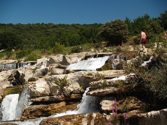 Les cascades du Sautadet - La Roque sur Ceze 64412