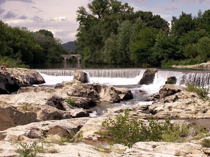 Les cascades du Sautadet - La Roque sur Ceze 54932