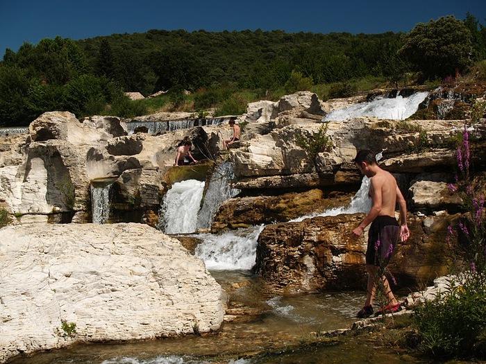 Les cascades du Sautadet - La Roque sur Ceze 49364