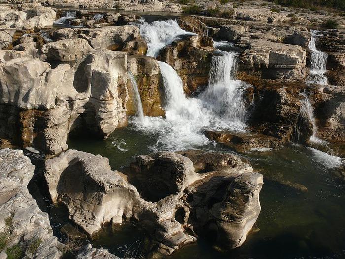 Les cascades du Sautadet - La Roque sur Ceze 19849