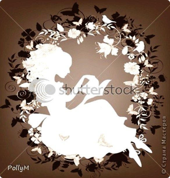 stock-vector-vintage-background-with-flowers-bird-and-girl-reading-book-silhouette-78792079 (584x610, 82Kb)