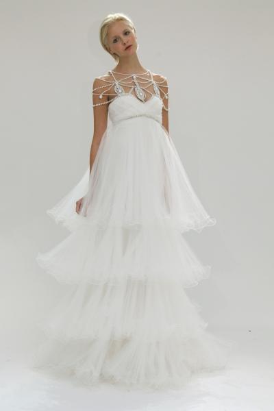 2011 2012 весільні сукні силует ампір
