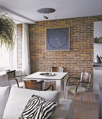 кирпич в интерьере квартиры - Нужные схемы и описания для всех.