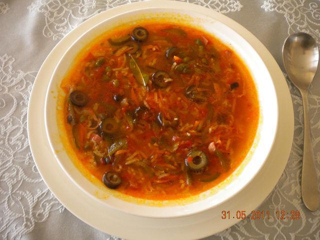 Рецепт суп рассольника
