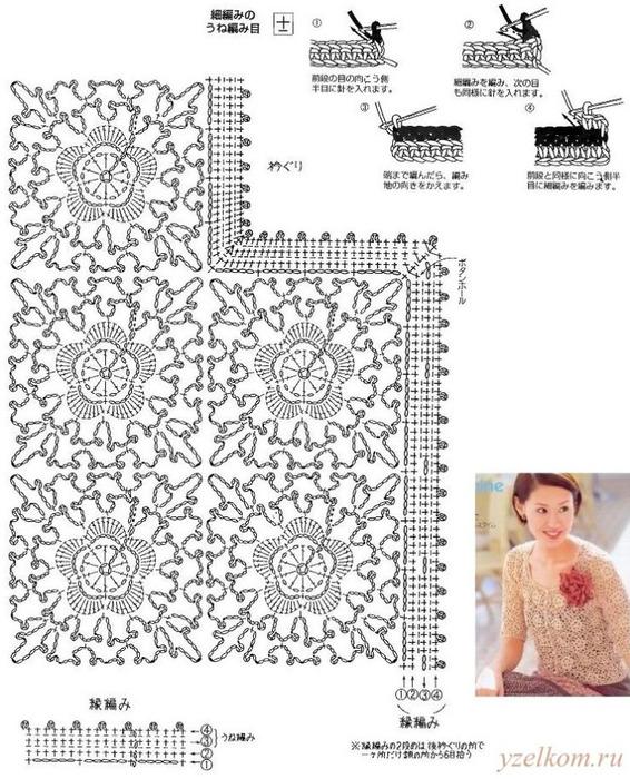 кофточка из мотивов япона 3 (566x700, 161Kb)