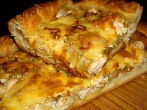 Вкусный куриный пирог с фото