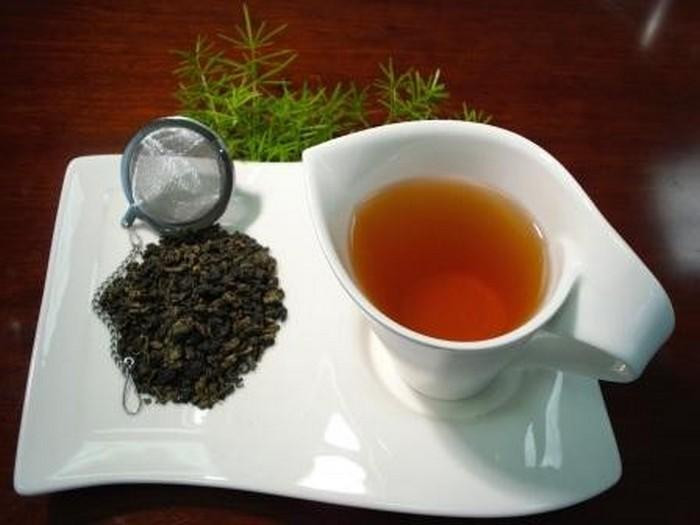 Оолонг либо Улун (верное заглавие) отчасти ферментированный чай.