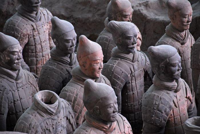 Терракотовая армия первого императора Китая в Сиане 11572