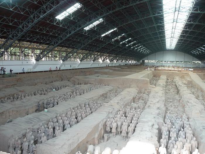 Терракотовая армия первого императора Китая в Сиане 61755