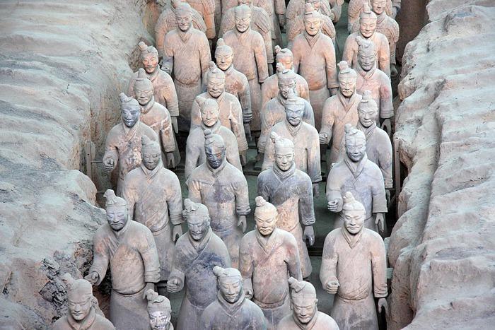 Терракотовая армия первого императора Китая в Сиане 30015