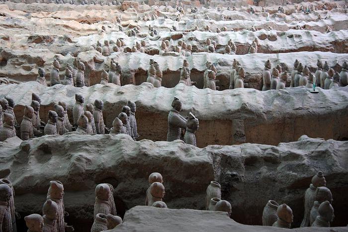 Терракотовая армия первого императора Китая в Сиане 95815