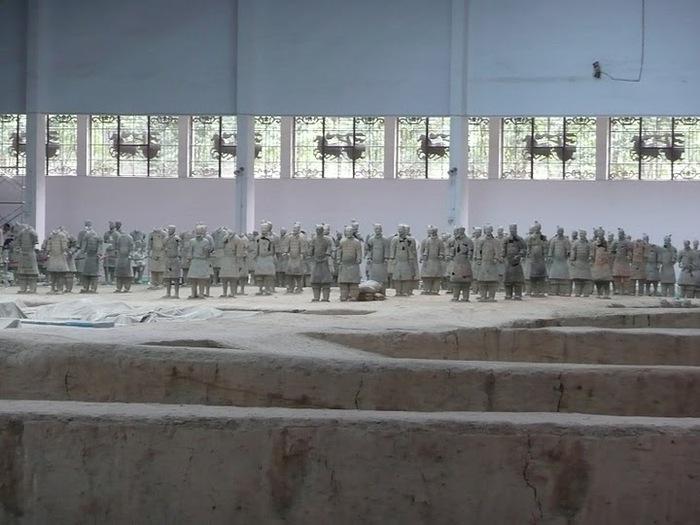 Терракотовая армия первого императора Китая в Сиане 34824