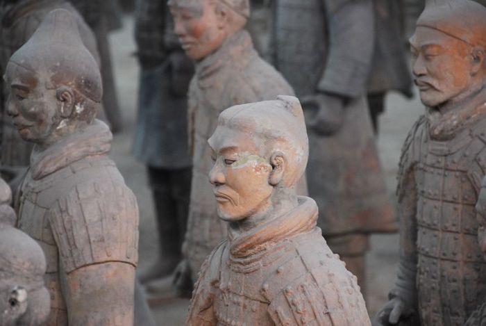 Терракотовая армия первого императора Китая в Сиане 44389