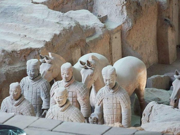 Терракотовая армия первого императора Китая в Сиане 52980
