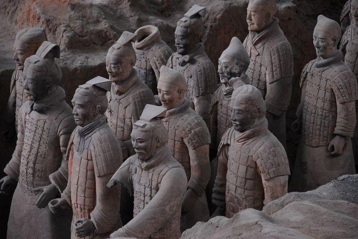 Терракотовая армия первого императора Китая в Сиане 80906