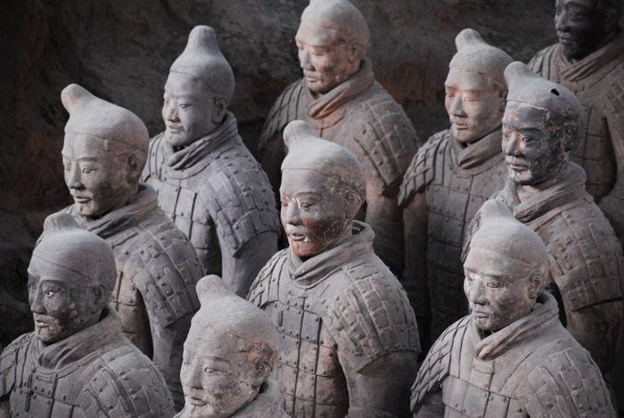 Терракотовая армия первого императора Китая в Сиане 96498