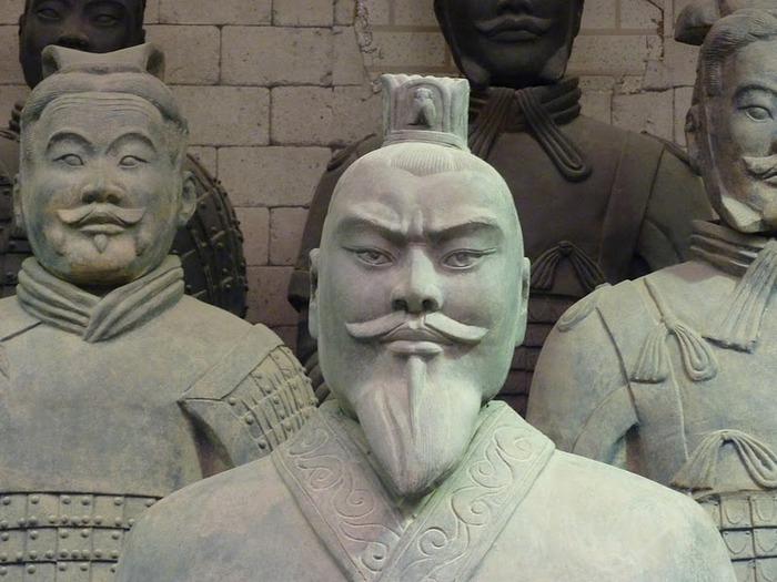 Терракотовая армия первого императора Китая в Сиане 49490