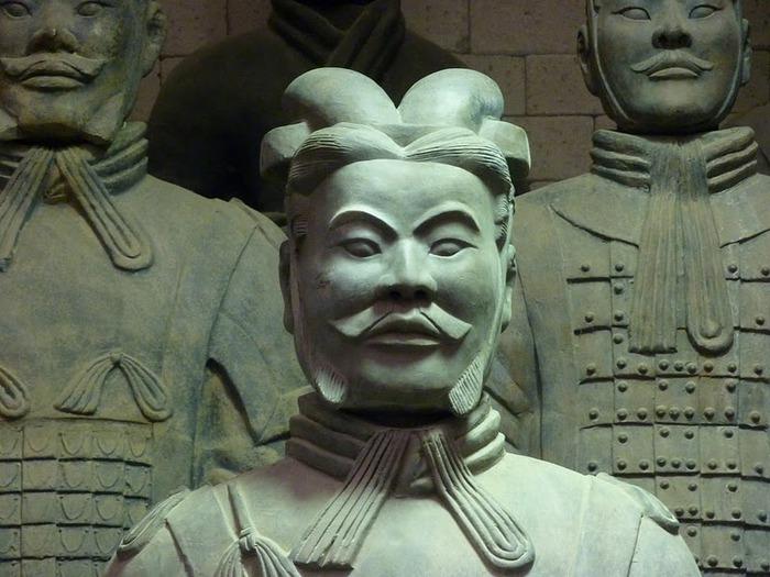 Терракотовая армия первого императора Китая в Сиане 36833