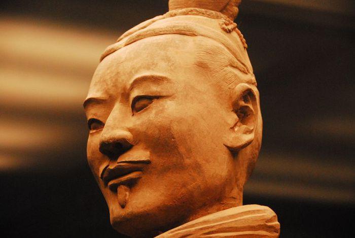 Терракотовая армия первого императора Китая в Сиане 33476