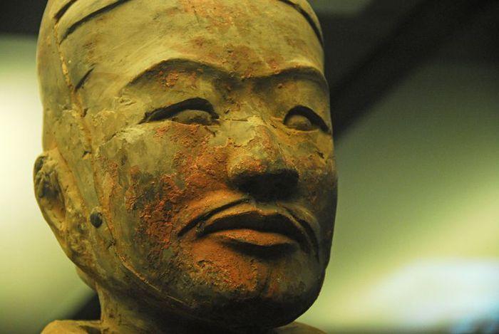 Терракотовая армия первого императора Китая в Сиане 46571