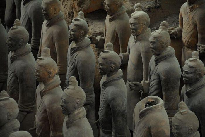 Терракотовая армия первого императора Китая в Сиане 95983