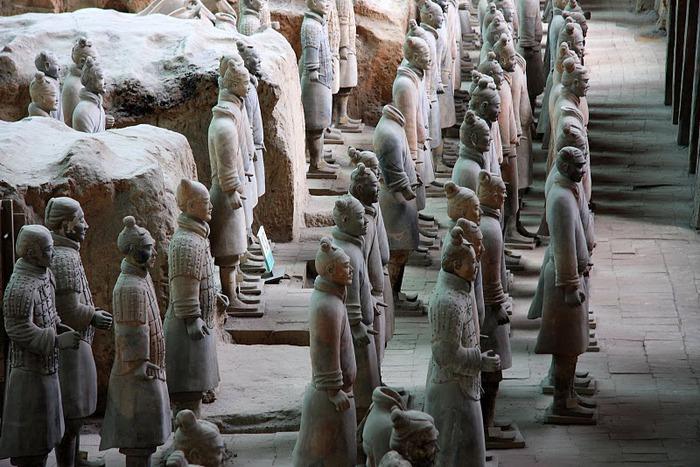 Терракотовая армия первого императора Китая в Сиане 54597