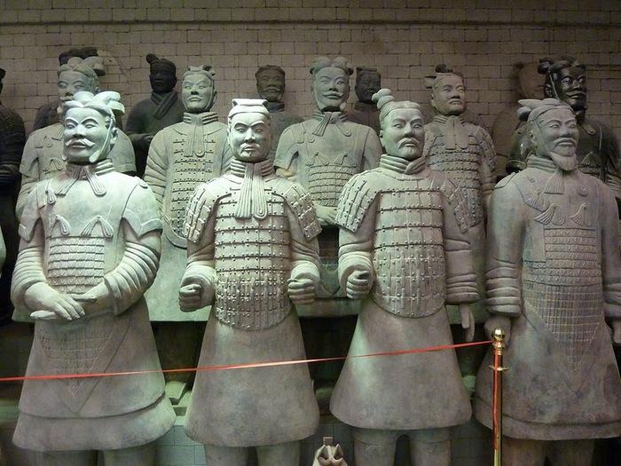 Терракотовая армия первого императора Китая в Сиане 50288