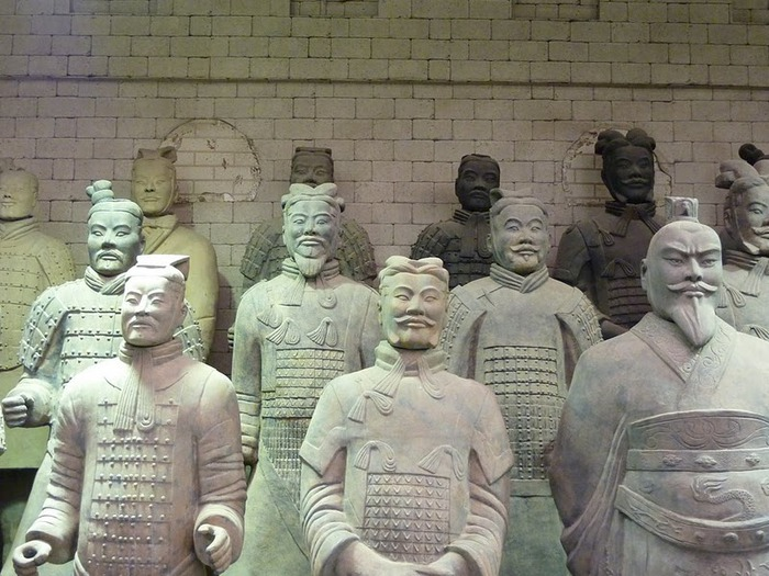 Терракотовая армия первого императора Китая в Сиане 33670