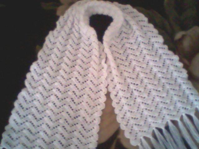 Ажурный шарф крючком.  Прочитать целикомВ.
