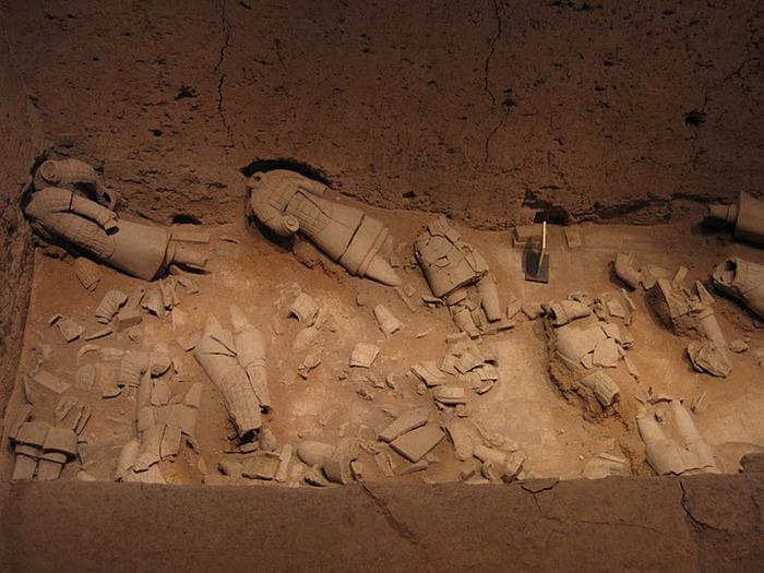 Терракотовая армия первого императора Китая в Сиане 54679
