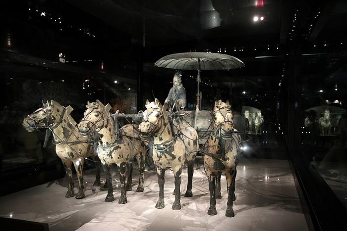 Терракотовая армия первого императора Китая в Сиане 13753